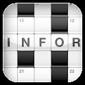 Krzyżówki (Crosswords) logo