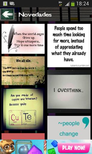 Frases Compartir 2014 FB y TW