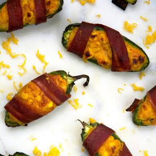 Cheesy Corn Stuffed Jalapenos.