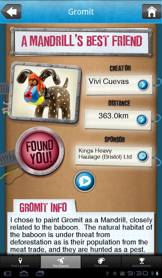 Detect-O-Gromit - screenshot