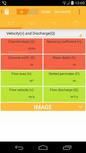Flow Calculator