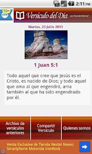 Versículo del Día - screenshot thumbnail