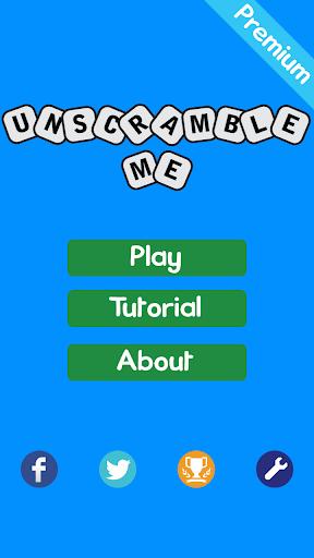 UnScramble Me