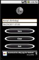 Screenshot of Final Countdown