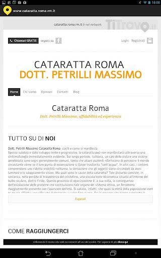 Cataratta Roma RM