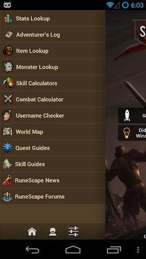 Screenshot for SwiftKit Mobile for RuneScape in Hong Kong Play Store