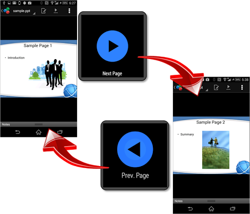 PDF Presenter for Android Wear