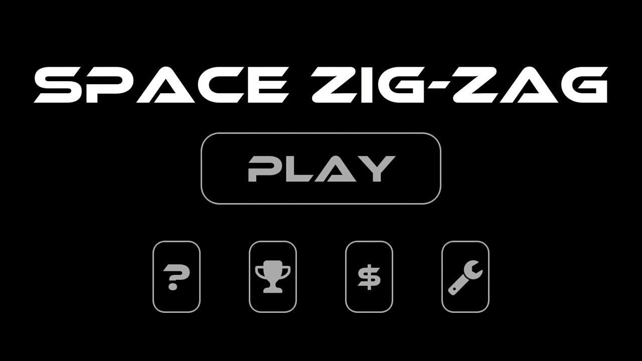 Space Zig-Zag - screenshot