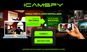 Screenshot of iCamSpy PRO