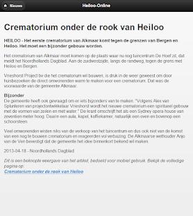 Heiloo-Online - screenshot thumbnail
