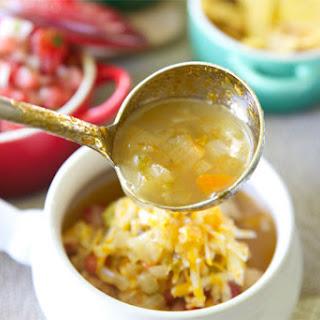 Copycat Cafe Rio Tortilla Soup.