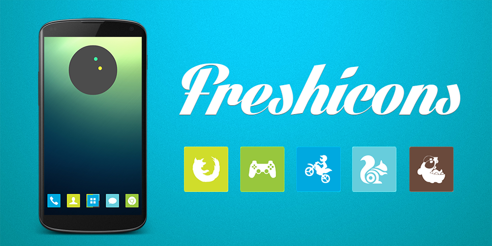 Freshicons - Icon Pack - screenshot