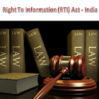 Right to Information Act (RTI) icon