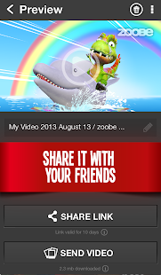 Zoobe - 3D animated messages - screenshot thumbnail
