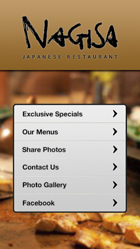 【免費娛樂App】Nagisa Japanese Restaurant-APP點子