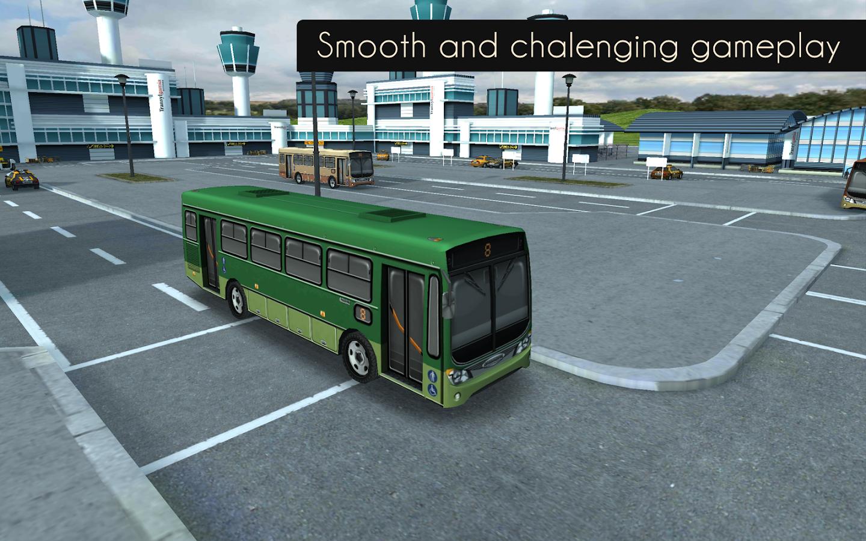 bus parking airport