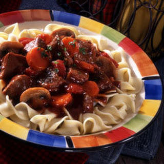 Hearty Slow Cooker Stew.