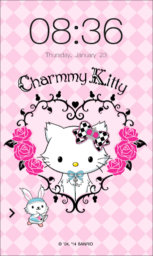 Charmmy Kitty Chess ScreenLock