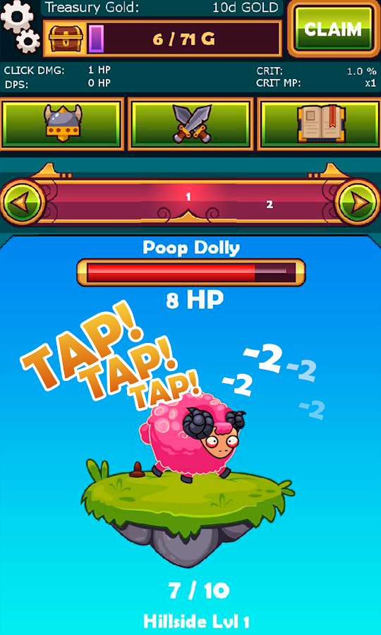 Tapventures- screenshot