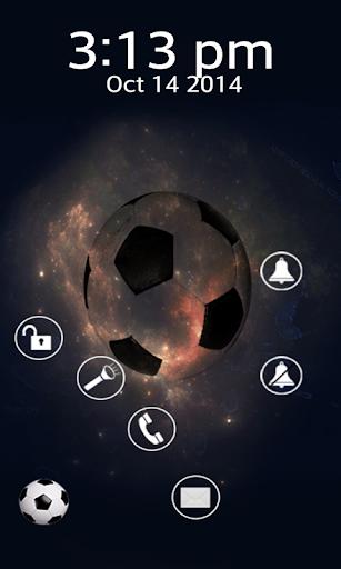 足球主題鎖屏