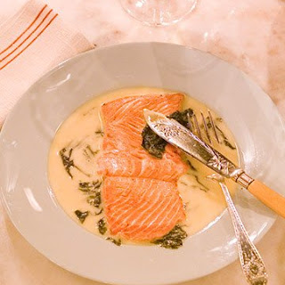 Pierre's Salmon with Sorrel