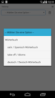 Screenshot of The Free Dictionary - German