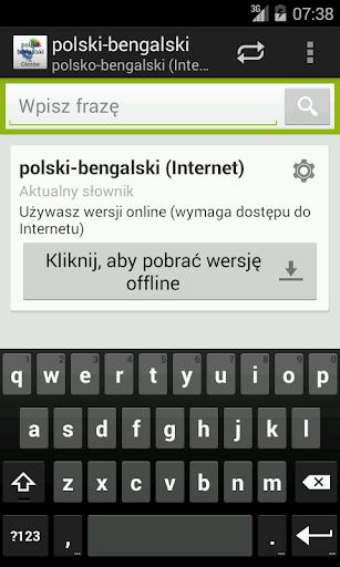 Polsko-Bengalski słownik