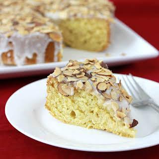 Toasted Almond Honey Cake.