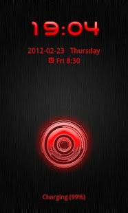 Go Locker Theme Red Tech - screenshot thumbnail