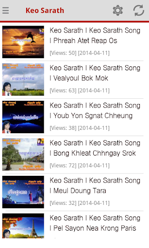Keo Sarath Old Khmer Songs