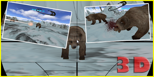 Deadly Bear 3D: Shooting