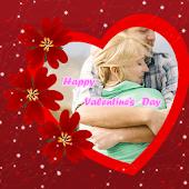 Romantic Valentine Love Frame