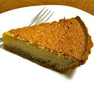 Caramel Sponge Pie