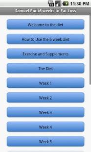 玩健康App|飲食應用6週的減肥免費|APP試玩