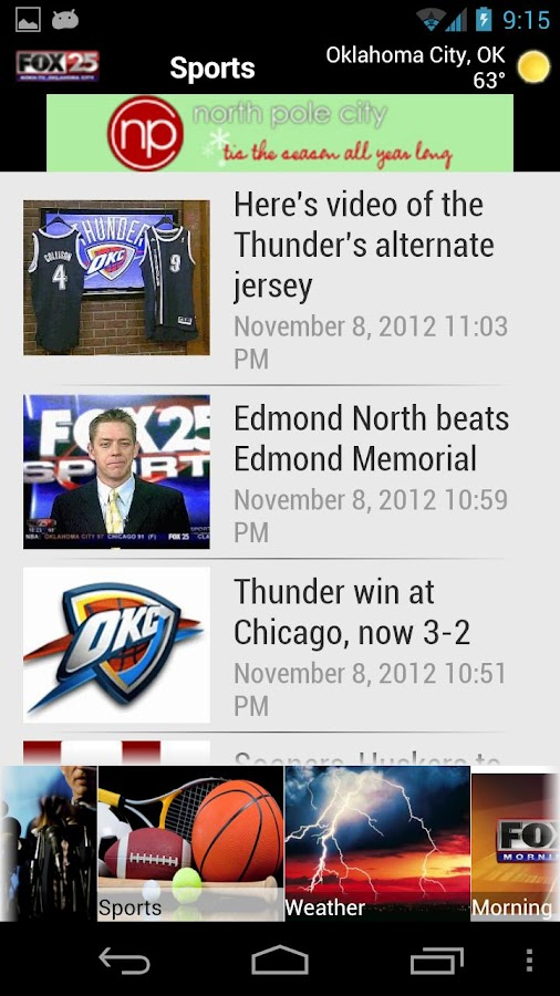 KOKH FOX25 - screenshot