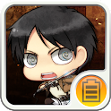 Attack on Titan Battery FREE icon