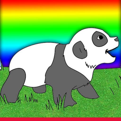 赤ちゃん動物は、本ゲームを着色 休閒 LOGO-玩APPs