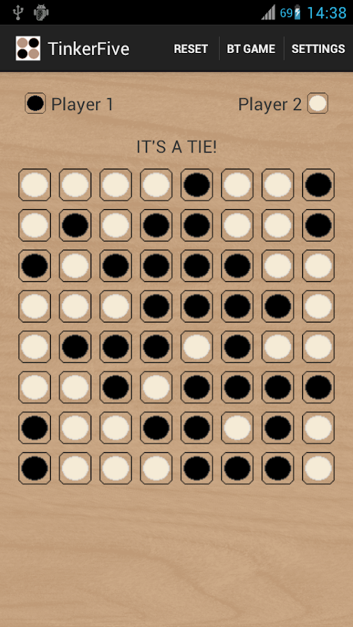 TinkerFive Gomoku- screenshot