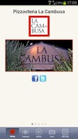 Screenshot of Pizzeria La Cambusa