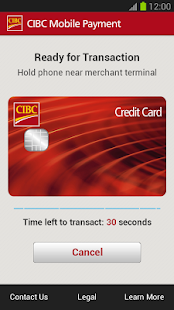 CIBC Mobile Payment™ App - screenshot thumbnail