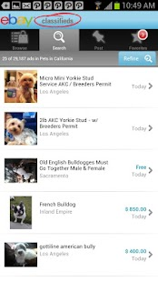 eBay Classifieds - screenshot thumbnail