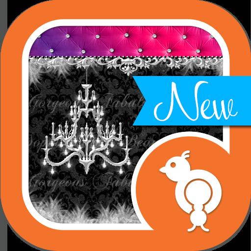 Damask & Velvet Theme SMS 個人化 App LOGO-APP開箱王