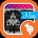Damask & Velvet Theme SMS icon