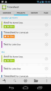Timesheet Extension- screenshot thumbnail