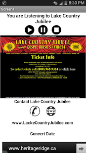 Lake Country Jubilee- screenshot thumbnail