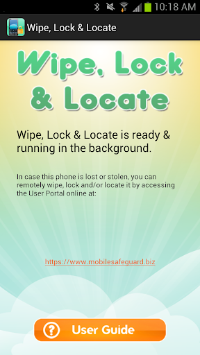 Lock Locate Wipe