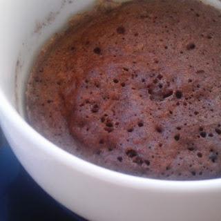 Paleo Chocolate Cake in a Mug.