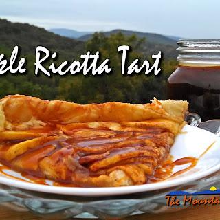 Meatless Monday ~ Apple Ricotta Tart