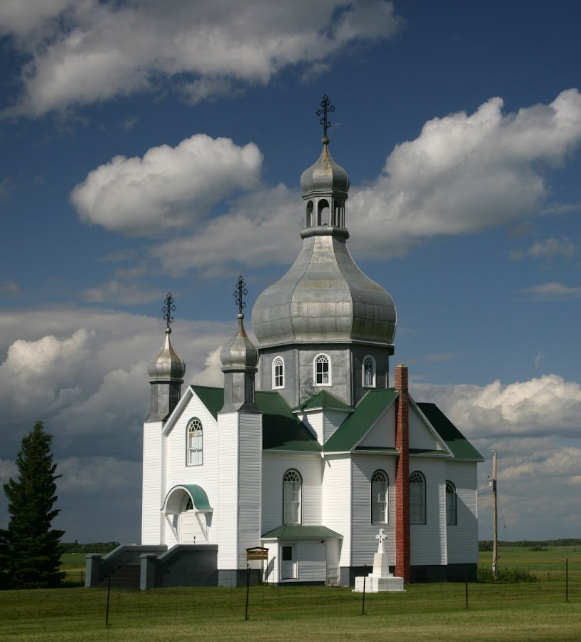 Saskatchewan Orthodox by Richard Duerksen - Buildings & Architecture Places of Worship ( canada, church, saskatchewan, orthodox, worship,  )