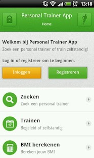 Personal Trainer App- screenshot thumbnail